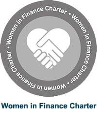 Women in Finance charter logo