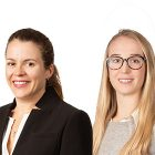 Pauline Grange and Jess Williams